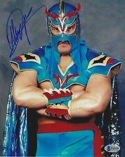 Ultimo Dragon Signed 8x10 Photo BAS COA WWE WCW All New Japan Pro Wrestling WAR