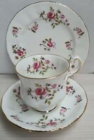 English Paragon Fragrance Pattern Bone China Trio Made in England c1980s