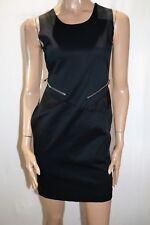 OXFORD Woman Brand Navy Zip Detail Bodycon Dress Size 8 BNWT #SR119