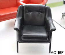 KUMIK AC-16F 1/6 Black Chair Single Sofa Fashion Armchair Model F 12'' Figure