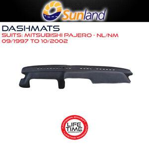 Sunland Dashmat Fits Mitsubishi Pajero NL/NM 09/1997-10/2002 With Inclinometer