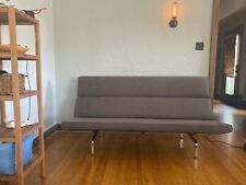 Mid-Century Modern Herman Miller Eames Compact Sofa 100% Authentic