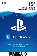 €15 EUR Carte PlayStation Network - 15 EURO PSN Code Jeu - Compte français - FR