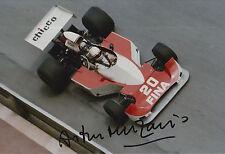 Arturo Merzario Firmato a Mano 12x8 photo formula 1 3.