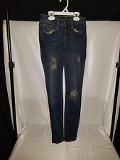 Bullhead Black CA. Trading Co. Juniors Denim Skinny Jeans Size 1 Inseam 29