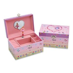 Lucy Locket - 'Fairy Tale' Musical Jewellery Box for Children (with ring holder)