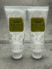 Tocca Florence Hand Cream Lot x 2 New Purse Size 1.5oz Lotion Sealed
