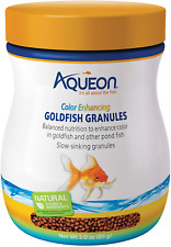 Aqueon Color Enhancing Goldfish Granules Blend Of Astaxanthin And Spirulina 3 OZ