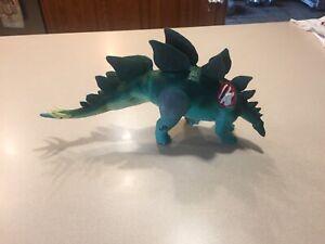 Vintage Jurassic Park World Toy Dinosaur Figures, Stegosaurus Hasbro