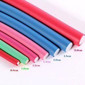 Flexi Rods10pcs Pack Professional Flexi Hair Roller Foam Curler Set Twist Curls