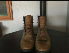 Ariat Heritage Roper Western Lace Up Brown Chore Boots Leather Women's Size 6.5