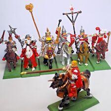Empire armée libre Guild monté standard porteurs musiciens Chevaliers etc métal RARE