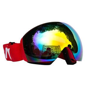 Outdoor Possbay Goggles Snow Glasses Anti UV Snowboard Ski Skate Winter Sports