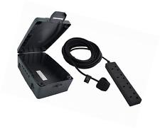 WBXBFG10B BG Masterplug étanche IP54 extérieur caisse enclos & pouvoir conduire