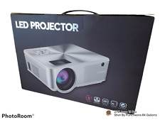 LED Projector C9 Series HD Projector TFT LCD with Remote and Hook Up Cables