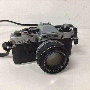 Olympus OM-10 35mm Film Camera f=50mm 1:1.8 Lens Made In Japan #947