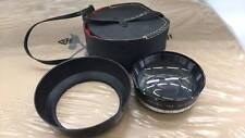 CHINON TELE CONVERTER LENS WITH LENS HOOD AND CASE MADE IN JAPAN