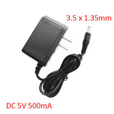 AC 100-240V DC 5V 500mA 3.5mm * 1.35mm Plug Power Supply Adapter
