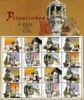 PORTUGAL SOUVENIR SHEET BLOCK 2001 - Yt:PT 2513-2520 - MNH