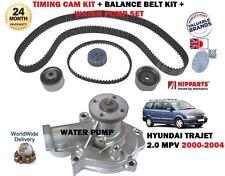 Pour Hyundai Trajet 2.0i 2000 - > NEUF POMPE À EAU + TIMING CAM TENDEUR de kit complet