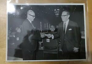 1960s Malaya Tunku Abdul Rahman at a dinner function  Original Press Photo