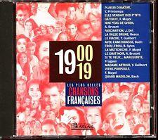 LES PLUS BELLES CHANSONS FRANCAISES - 1900 / 1919 - CD COMPILATION ATLAS
