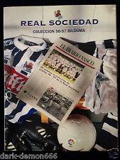 ALBUM CROMOS REAL SOCIEDAD COLECCION 96-97 BILDUMA DIARIO VASCO