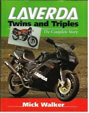 LAVERDA 350 500 650 750 1000 JOTA 1200 V6 47-98 DESIGN & PRODUCTION HISTORY BOOK