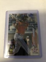 2020 Topps Chrome Baseball Yordan Alvarez #200 Rookie Card Houston Astros RC