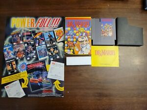 Dr. Mario (Nintendo NES) Complete - Tested - Authentic