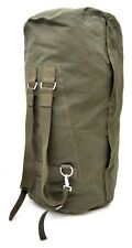 German Army Large Kit Bag With Ruscksack Straps Military Issue Heavy Duty Canvas