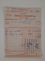 SWIFT & CO 1936 MIDDLETOWN NY cold storage REFRIGERATION local HISTORY