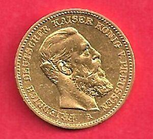 20 Mark Goldmünze, Kaiserreich Friedrich, 1888