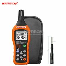 NKTECH MS6508+ LCD Digital Temperature Humidity Meter Thermometer Hygrometer