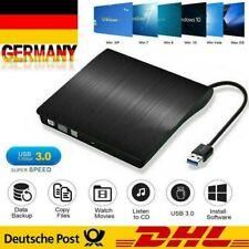 Externes DVD Laufwerk USB 3.0 Brenner Slim CD DVD-RW Brenner Für PC,Laptop,Mac