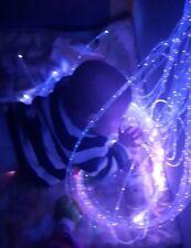 Fibre optic sensory harness lights 2.2 mm  Flexible (50x100cm) autism, children