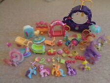 my little pony figures small ponyville with accessories