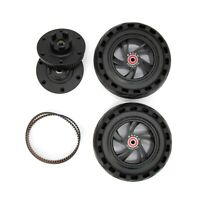 AT 165mm Rubble OFF-ROAD Wheels With Pulley For Skateboard