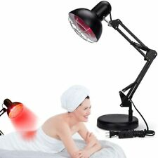 150W Near Infrared IR Red Light Therapy Heat Lamp for Body Muscle Pain Neck Ache