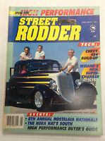 Street Rodder Magazine Cordeiro's '34 Ford August 1988 010517R
