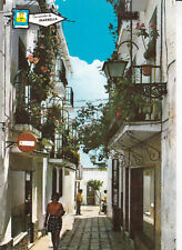 Typical Street Marbella Spain Postcard Unused VGC