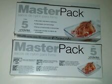 Cooking Oven Bags LARGE Size for Meats & Poultry 2 Boxes of 5 Bags 10 Bags Total