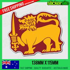 SINHABAHU Sticker Decal - SRI LANKA FLAG OF THE SINHAB LION Sticker Decal