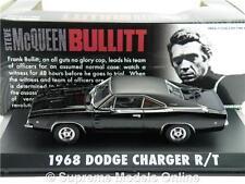1:43 original Modelo De Película Steve McQueen Bullitt 1968 DODGE CHARGER