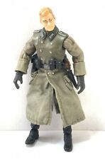 Military Soldier German WWII Figure 10 cm plastic PVC UK