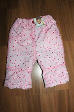 Süße Babyhose - mit Fleecefutter - für Mädchen - Gr. 62 - von Ergee, NEU!!!