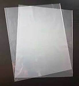 "Plastic Bag 600x900mm 100um = 24x36"" Clear Poly Bag Multi Purpose 50/Pack"