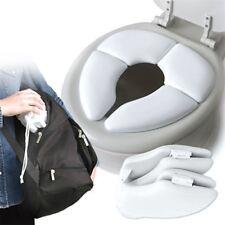 Baby Toddler Travel Potty Cushion Kids Padded Toilet Training Seat Folding