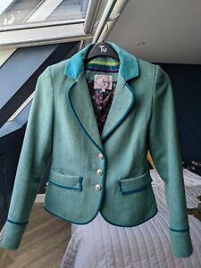 Ness Green Ladies Tweed Laura Jacket size 12