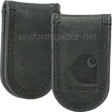Carhartt Leather Magnetic Money Clip Detroit, Workwear, Pebble, or Rugged